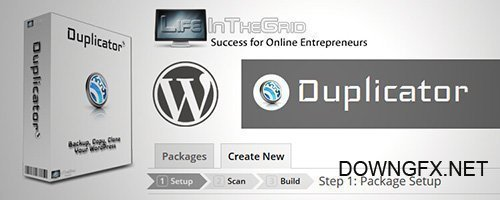 Duplicator Pro v3.8.0 - WordPress Site Migration & BackUp - NULLED