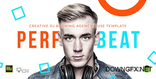 ThemeForest - PerfectBeat v1.0 - DJ Booking Agency Muse Template - 13650756