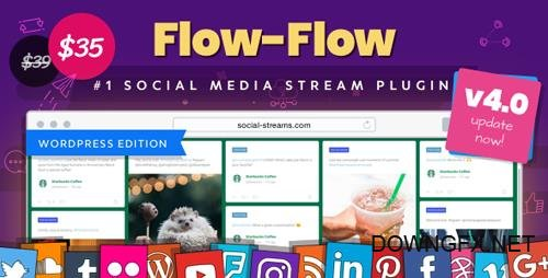 CodeCanyon - Flow-Flow v4.1.5 - WordPress Social Stream Plugin - 9319434