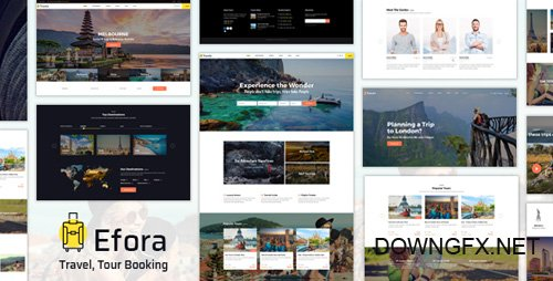 ThemeForest - Efora v1.0 - Travel, Tour Booking and Travel Agency WordPress Theme (Update: 7 May 18) - 20483984