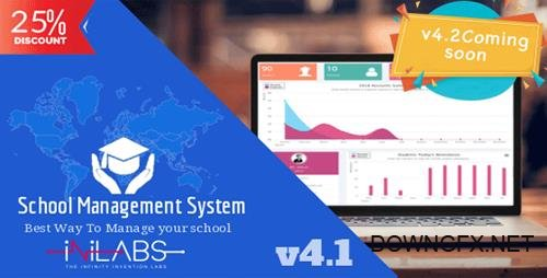 CodeCanyon - Inilabs School Express v4.1 - School Management System - 11630340