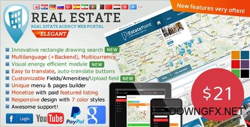 CodeCanyon - Real Estate Agency Portal v1.6.5 - 6539169 - NULLED