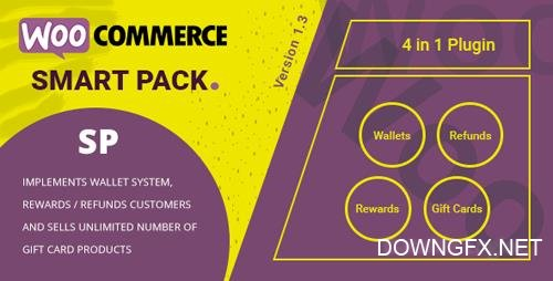 CodeCanyon - WooCommerce Smart Pack v1.3.10 - Gift Card, Wallet, Refund & Reward - 20265145