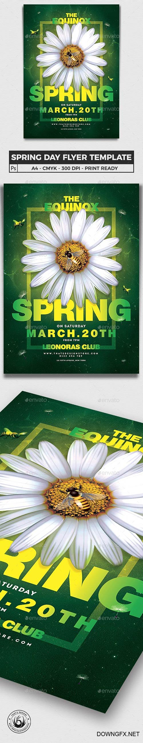 Graphicriver - Spring Day Flyer Template V3 23131740