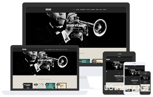 CSSIgniter - Berliner v1.8.1 - Music WordPress Theme
