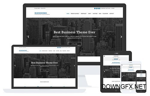 CSSIgniter - Business3ree v2.3.1 - WordPress Theme