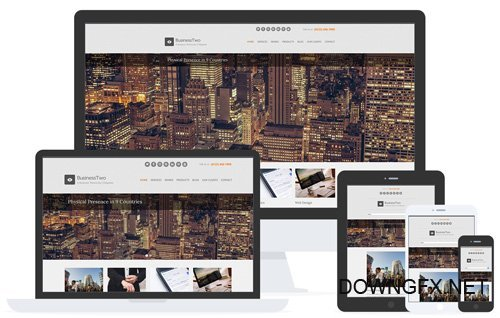 CSSIgniter - BusinessTwo v1.6.1 - WordPress Theme