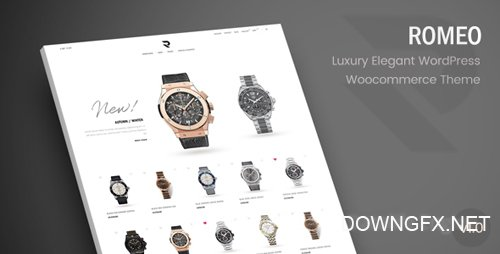 ThemeForest - Romeo v1.1 - Luxury Modern WooCommerce WordPress Theme - 20284356