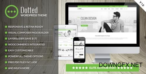 ThemeForest - Dotted v1.0.6 - Corporate Multipurpose WordPress Theme - 18442414