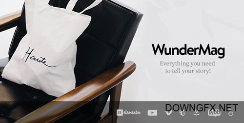 ThemeForest - WunderMag v2.5.0 - A WordPress Blog / Magazine Theme - 20337534