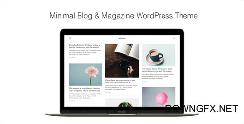 ThemeForest - Maxima v1.2.3 - Minimal Blog & Magazine WordPress Theme - 19256614