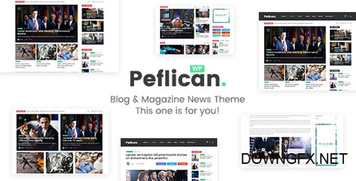 ThemeForest - Peflican v1.0.3 - A Newspaper and Magazine WordPress Theme - 21318939