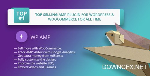 CodeCanyon - WP AMP v9.1.6 - Accelerated Mobile Pages for WordPress and WooCommerce - 16278608