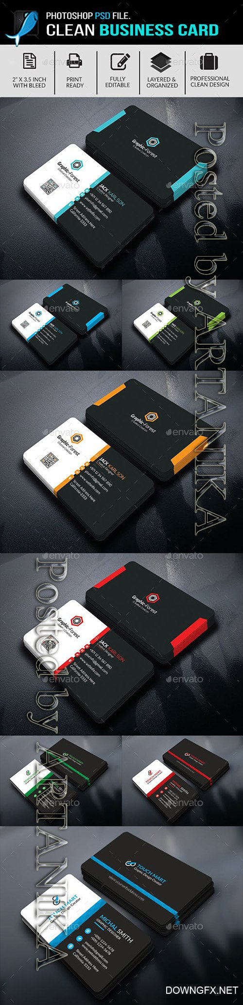 GraphicRiver - Business Card Bundle 21919390