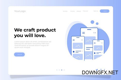 Craft Product - Banner & Landing Page