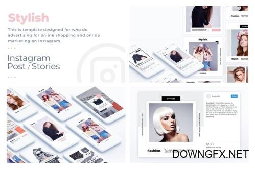 Fashion $ Stylish Instagram Template