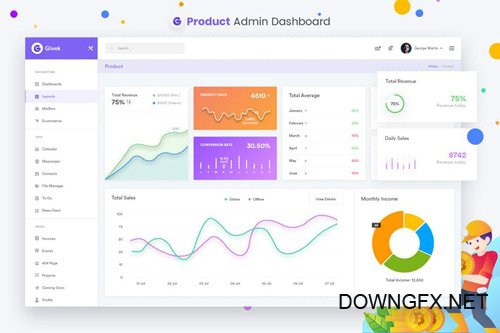 Products - Admin Dashboard UI Kit