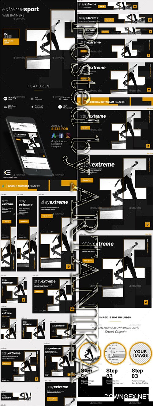 GraphicRiver - Sport Banners 23256599