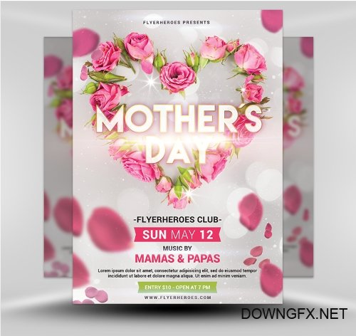 PSD Mother's Day Flyer 5.19