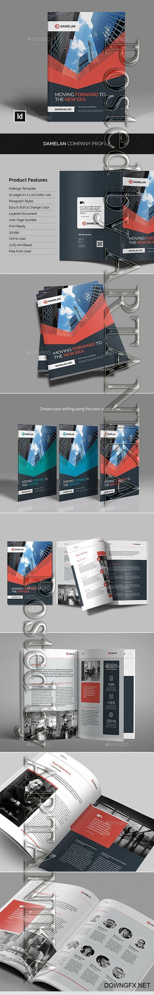 GraphicRiver - Damelan Company Profile 23211951