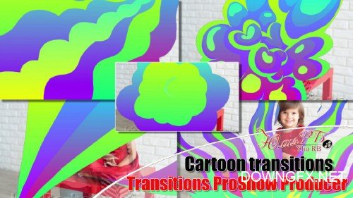 Cartoon transitions proShow producer