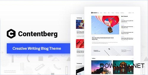 ThemeForest - Contentberg Blog v1.5.0 - Content Marketing Blog - 22634637
