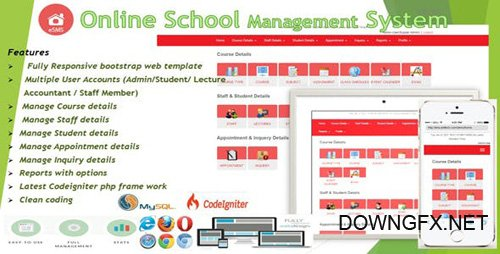 CodeCanyon - eSMS - Online School Management System (Update: 1 March 19) - 19463364
