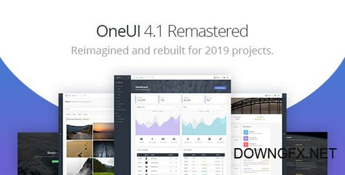 ThemeForest - OneUI v4.1 - Bootstrap 4 Admin Dashboard Template & Laravel Starter Kit - 11820082
