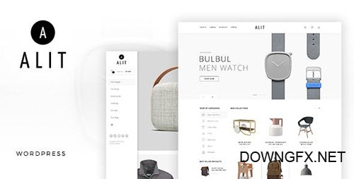 ThemeForest - Alit v1.6 - Minimalist Responsive Woocommerce WordPress Theme - 19403010