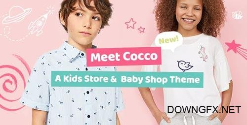 ThemeForest - Cocco v1.1.1 - Kids Store and Baby Shop Theme - 22194792