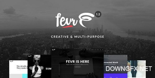 ThemeForest - Fevr v1.2.9.6 - Creative MultiPurpose Theme - 14051111