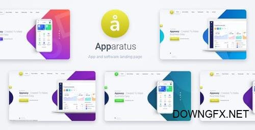 ThemeForest - Apparatus v1.3 - A Multi-Purpose One-Page Portfolio and App Landing Theme - 23065584