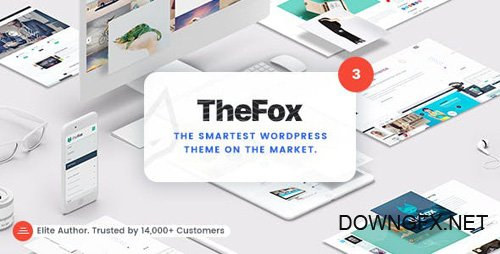 ThemeForest - TheFox v3.6.7 - Responsive Multi-Purpose WordPress Theme - 11099136 - NULLED