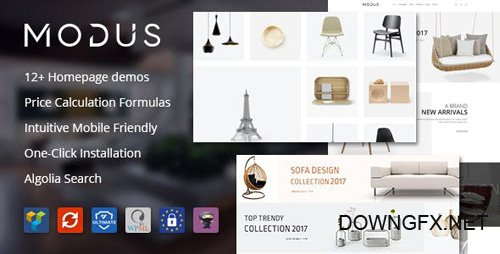 ThemeForest - Modus v1.4.8 - Modern Furniture WooCommerce Theme - 21278889