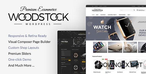 ThemeForest - Woodstock v1.9.9.4 - Electronics Responsive WooCommerce Theme - 15043746