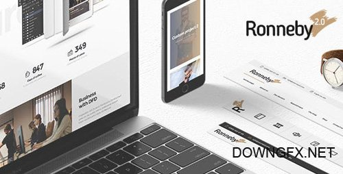 ThemeForest - Ronneby v2.4.8 - High-Performance WordPress Theme - 11776839