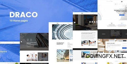 ThemeForest - Draco v1.0 - Construction, Building, Business, and Architecture PSD Template - 21213043