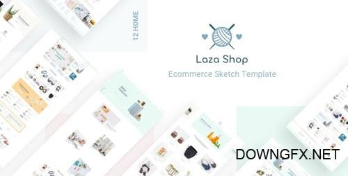 ThemeForest - Laza v1.0 - Mutilpurpose eCommerce Sketch Template - 22397760