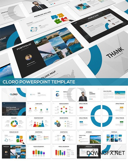 Cloro Powerpoint Template