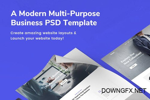 Kolaso - Modern Business Multi-Purpose PSD Template