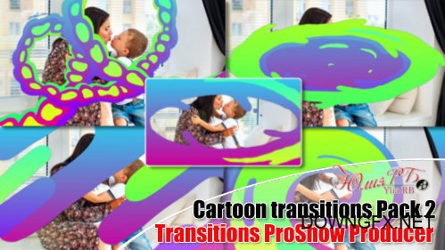 Cartoon transitions pack 2 - transitions ProShow Producer