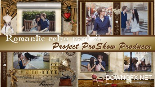 Romantic retro - styles ProShow Producer
