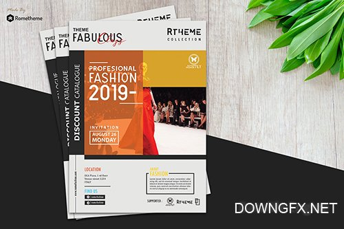 Fashion Modern Flyer vol. 07 PSD