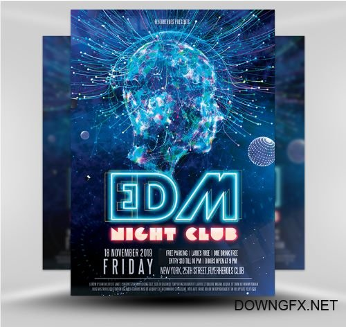 PSD Club Party Flyer 5