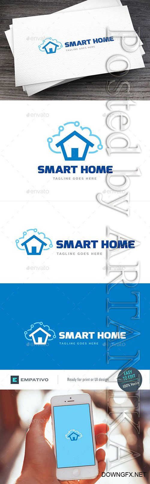Graphicriver - Smart Home Logo Template 11307418