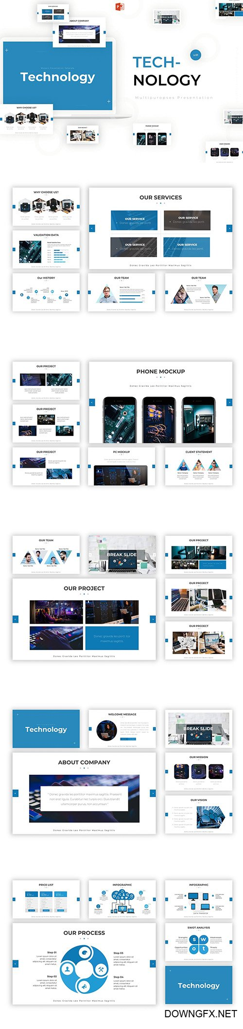 Technology - Powerpoint Template