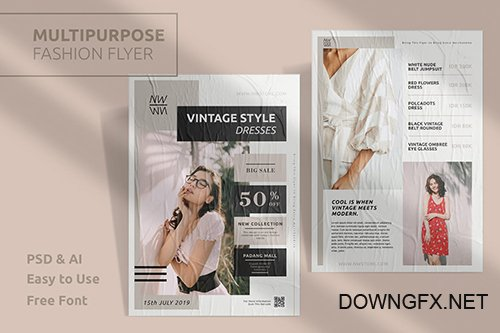 Fashion Template Flyer Vol.5