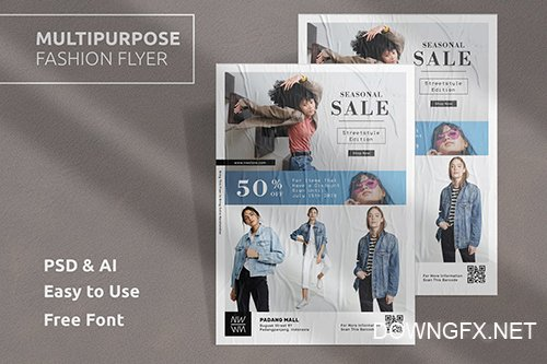Fashion Flyer Template Vol.4