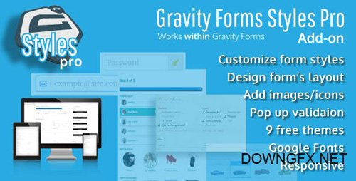 CodeCanyon - Gravity Forms Styles Pro Add-on v2.5.0 - 18880940