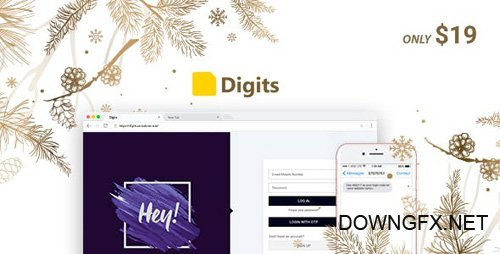 CodeCanyon - Digits v6.6.1 - WordPress Mobile Number Signup and Login - 19801105 - NULLED
